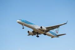 Thomson airlines plane Stock Photo