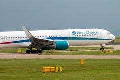 Thomson Airways Boeing 757 Fotografering för Bildbyråer