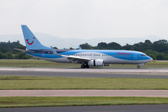Thomson Airways Boeing 757 Royaltyfria Foton