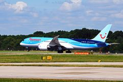 Thomson Airways Boeing 787 Dreamliner. Royalty Free Stock Photos