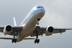 Thomson boeing 757 Stock Photo