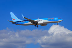 Thomson Boeing 737 Stock Photography