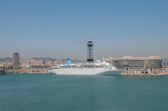 Thomson Dream in Barcelona Stock Photo