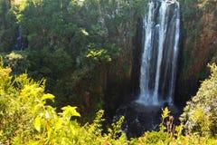 Thomson Falls. In Kenya panorama Royalty Free Stock Photo