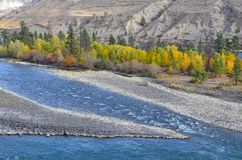 Thomson River in British Columbia, Canada Stock Images