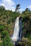 Thomson's Falls, Kenya. Big Thomson's Falls. Africa, Kenya Royalty Free Stock Photo