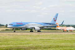 Thomson Tui Airlane Plane Stock Images