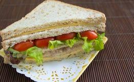 Thon de fromage de sandwich Image stock