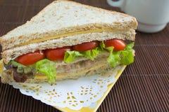 Thon de fromage de sandwich Image libre de droits