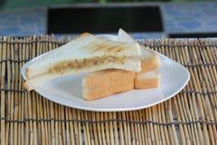 Thon de sandwich spraed Photographie stock