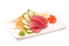 Thon de sashimi Photographie stock libre de droits
