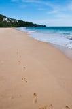 thon nai phuket Таиланда пляжа Стоковые Фото