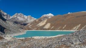 Thonak lake, Everest region Royalty Free Stock Image