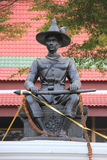 Thonburi的国王 免版税库存照片