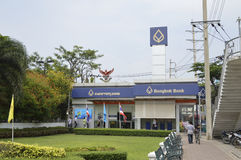 Thonburi технологического университета mongkut короля в Таиланде Стоковое Фото