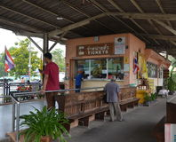 Thonburi railway  station in Bangkok Stock Images