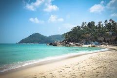 Thong Nai Pan Yai beach, Koh Phangan, Thailand. Sunny day stock images