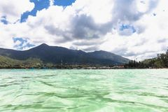 Thong Nai Pan Yai beach, Paradise, Malibu or Bottle beach in Chaloklum, Koh Phangan, Thailand. Thong Nai Pan Yai beach, Paradise, Malibu or Bottle beach on Stock Image