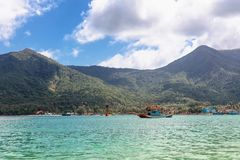 Thong Nai Pan Yai beach, Paradise, Malibu or Bottle beach in Chaloklum, Koh Phangan, Thailand. Thong Nai Pan Yai beach, Paradise, Malibu or Bottle beach on Stock Photography