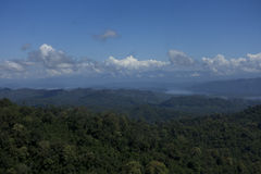 Thong Pha Phum mountain Stock Image