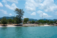 Thong Sala on Koh Phangan Royalty Free Stock Images