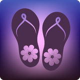Thongs Royalty Free Stock Photo
