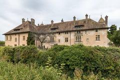 THONON-LES-BAINS FRANCE/EUROPA - 15 DE SETEMBRO: Castelo de Ripai fotografia de stock royalty free