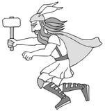 Thor Images libres de droits