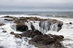 Thor bem, costa de Oregon foto de stock royalty free
