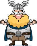 Thor confuso dos desenhos animados Fotografia de Stock Royalty Free