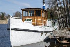 Thor de milliseconde, bateau de vapeur photo stock