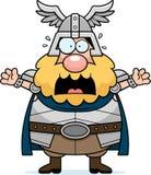 Thor effrayé de bande dessinée illustration de vecteur