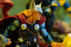 Thor Figurine Immagine Stock