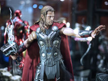 Thor i leksakanda 2015 Royaltyfria Bilder