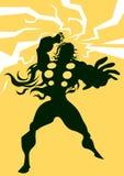 Thor, illustratie Stock Fotografie