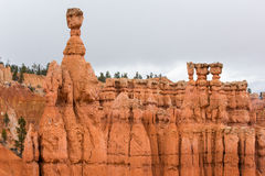 Thor's Hammer in Bryce Canyon Royalty Free Stock Photography