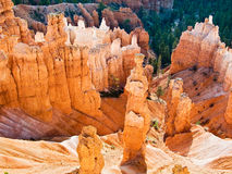 Thor's Hammer and Queen Victoria Hoo Doos, Bryce Stock Photo