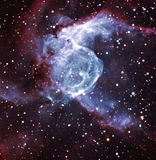 Thor's helmet, NGC 2359 Stock Images