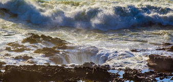 Thor's Well Stock Photography