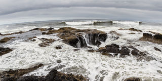 Thor's Well, Oregon Coast Royalty Free Stock Image