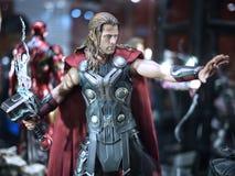 Thor in stuk speelgoed ziel 2015 royalty-vrije stock afbeeldingen