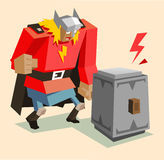 Thor the super warrior Royalty Free Stock Photo