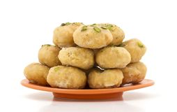 Thor sweet food. Indian traditional sweet food Thor Stock Image
