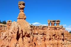 Thor& x27; s-hammare i Bryce Canyon Arkivbilder