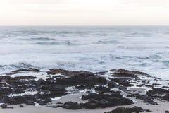 Thor& x27;s Well on the Oregon Coast Stock Image