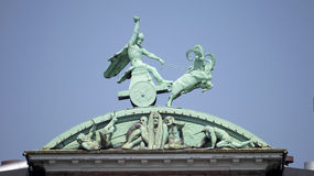 Thor y su martillo Foto de archivo libre de regalías
