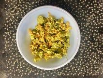 Thoran dos feijões e das cenouras de Kerala imagem de stock royalty free