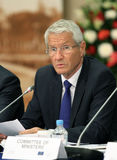 Thorbjørn Jagland, during a 15 CEMAT conference Stock Photo