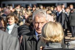 Thorbjorn Jagland - sekreterare General av CEN Arkivfoto