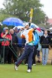 Thorbjorn Olesen Británicos abre St Annes de Lytham del golf Imagen de archivo
